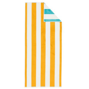 Custome Made Stripe Design Beach Towel pictures & photos