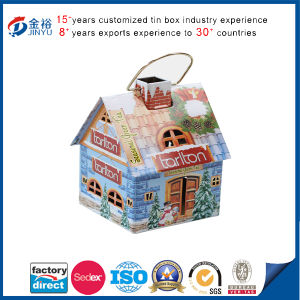 Recyclable Carto House Shaped Aldi Storage pictures & photos