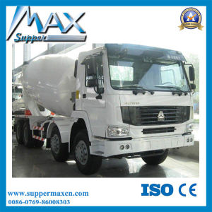 Sinotruk HOWO 10 Wheel 340HP 8 Cubic Meters Concrete Mixer Truck for Sale pictures & photos