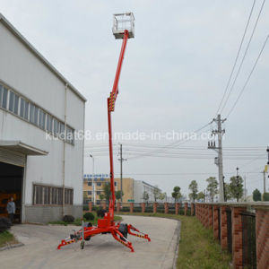 Towable Mounted Articulating Boom Lift / Trailer Mounted Articulating Boom Lift for Sale pictures & photos
