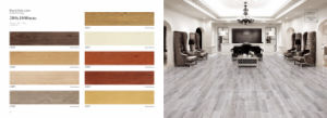 Roller Printing Original Wood Looking Tile Wood Flooring pictures & photos