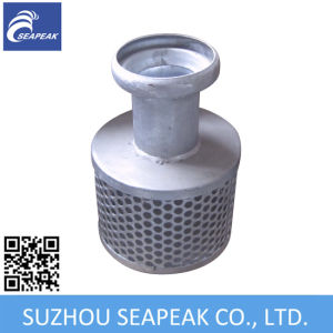 Galvanized Carbon Steel Bauer Coupling with Strainer pictures & photos