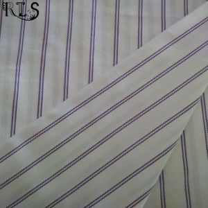 Cotton Poplin Woven Yarn Dyed Fabric for Garments Shirts/Dress Rls50-1po pictures & photos