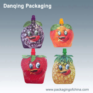 Fruit Shape Stand up Pouch with Spout, Doypack pictures & photos