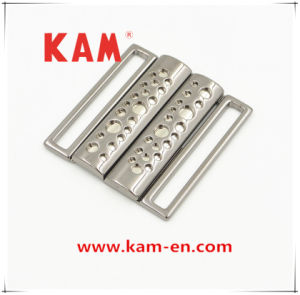 High Grade Stylish Casual Durable Cheap Alloy Buckle for Dresses with Rectangle Shape