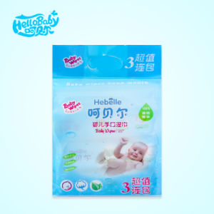 80 PCS 3 Bags/Handling Bag Baby Wipes pictures & photos