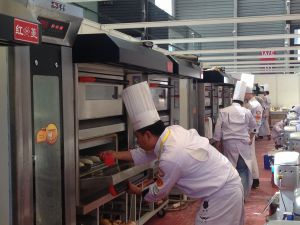 3 Layer, 12 Pan Stackable Gas Oven, Pizza Oven (CE) Bakery Equipment pictures & photos