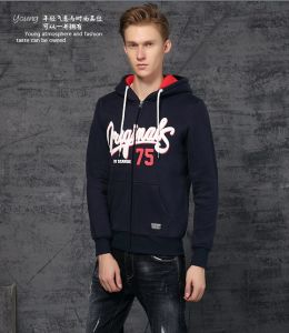 2015 New Fashion Winter Men′s Hoodies with Zipper (2015JK47-7) pictures & photos