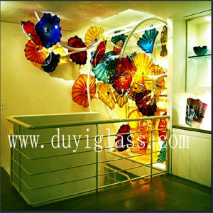 Artistic Muticolour Murano Glass Plates for Wall Decoration