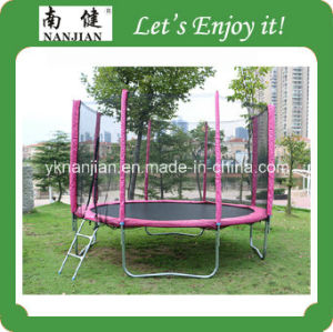 Cheap Outdoor Trampoline Bed with Safe Net for Sale pictures & photos