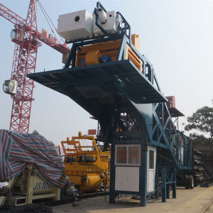CE Certificate Yhzs50 Mobile Beton Batching Plant pictures & photos
