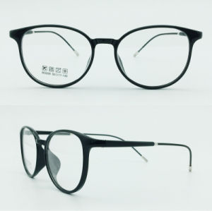Super Light Half Plastic Steel Fashion New Design Optical Frames Glasses pictures & photos