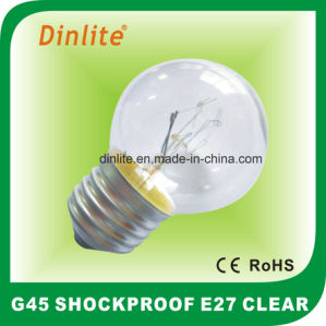 Clear Incandescent Globe Shockproof Bulb pictures & photos