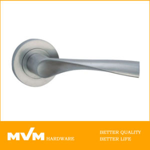 Stainless Steel Door Handle on Rose (S1138) pictures & photos