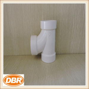 4 Inch Size PVC Fitting Sanitary Tee pictures & photos