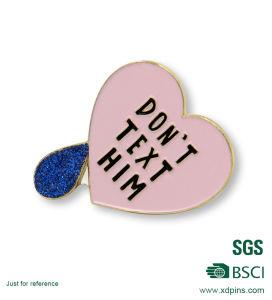 Customized Metal Gold Plating Hard Enamel Lapel Pin Badge (BG-228) pictures & photos