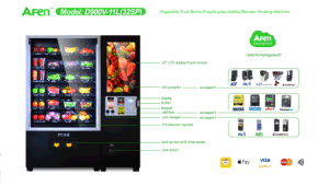 WiFi Vending Machine/Drinking Vending Machine with Elevator pictures & photos