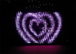Fireproof LED Wediding Star Cloth with RGB SMD Lamps pictures & photos