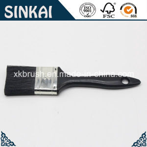 Filament Paint Brushes with Balck Plastic Handle pictures & photos