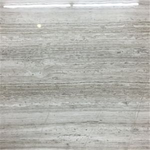Polished Porcelain Thin Tile Line Stone Design Gray Color pictures & photos