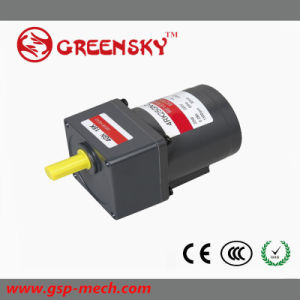 Small Reversible AC Electrical Motor with Gearbox pictures & photos