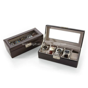 Personalized Royce 5-Slot Leather Watch Box pictures & photos