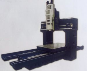 CNC Gantry Milling Machine, CNC Gantry Machining Center, Manufacturing & Processing Machinery, (SP2014) pictures & photos