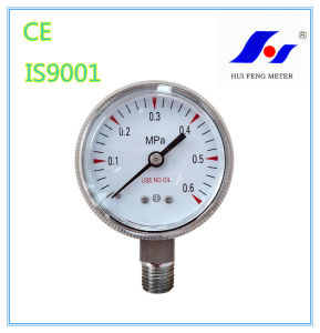 Y50 All Stainless Steel Pressure Gauge pictures & photos