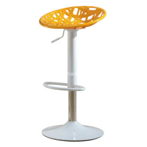 High Quantity Bar Chair with ABS Seat and Chromed Base pictures & photos