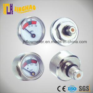 High Quality Spiral Tube Mini Pressure Gauge (JH-YL-MN) pictures & photos