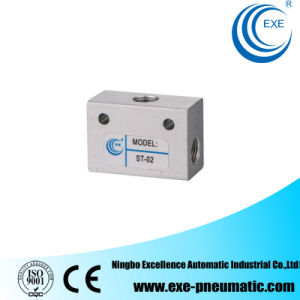 Exe Solenoid Valve Pneumatic Valve St Series Shuttle Valve St-02 pictures & photos