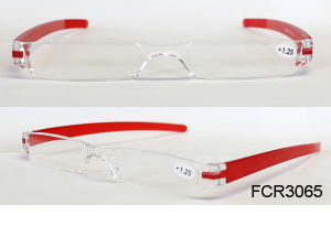 Laura Fairy 2016 New Design Women Wine Red Frame Optics Reading Glasses 2.5 Wholesale pictures & photos