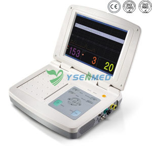 Ysfm100 Hospital Hot Sale Portable Fetal Monitor pictures & photos