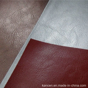 Fashion Color Soft PU Sofa Leather (KC-W026)