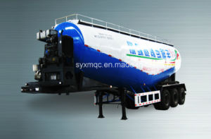 44cbm Bulk Cement Tanker Trailer / Low Density Bulk Cement Powder Truck Trailer