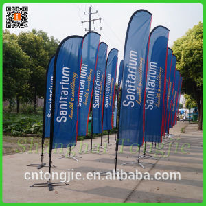 Cheap Feather Shape Banner Flying Banner (TJ-005) pictures & photos
