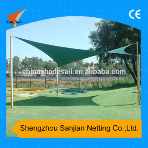 Dark Green Color for Waterproof Polyester Shade Sail (Manufaturer)