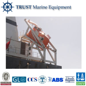 Gravity Rolling Type of Yacht Boat Mounted Davit Crane pictures & photos