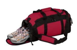 Polyester Gym Bag with Zippered Pockets, Sport Gym Bags Sh-16031616 pictures & photos