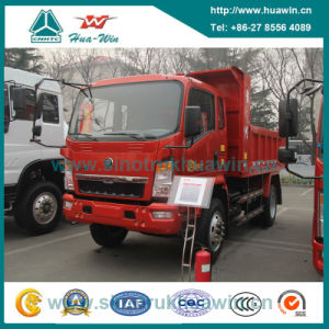 Sinotruk New Huanghe 4X2 Tipper Dump Truck 4 Ton pictures & photos