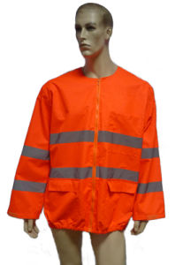 Reflective Safety Coat for Work pictures & photos