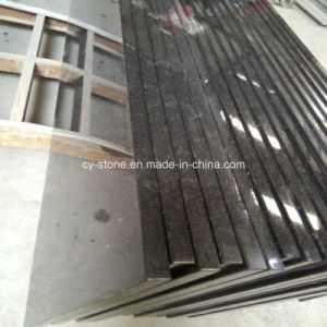 Natural Stone Black Galaxy Granite Countertop for Slabs and Tiles pictures & photos