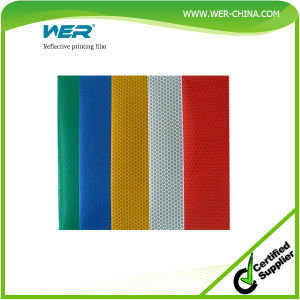 Best Quality Wer advertisement Grade Solvent Printing Reflective Printing Film pictures & photos