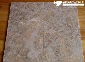 Polished Jiangxi Cream Marble Tile for Flooring/Wall pictures & photos
