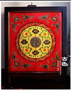 Antique Chinese Reproduction Furniture Painted Cabinet pictures & photos