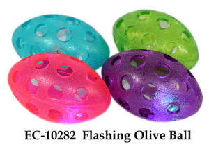 Flashing Olive Ball Toy pictures & photos