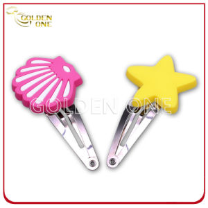 Hot Selling Wholesale Novelty Girls Kids PVC Hair Clip pictures & photos