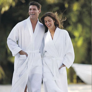 Free Size Hotel Cotton Towel Terry Bathrobe pictures & photos