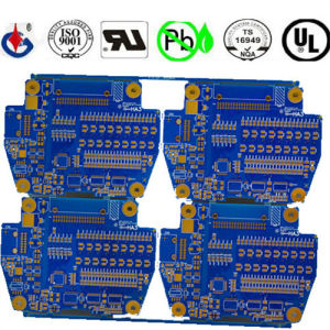 4 Layer Fr4 Biue Soldermask PCB Circuit Board pictures & photos