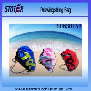 Latest Eco White Cotton Drawstring Bag